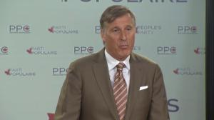 Bernier says he wants change on how immigration is handled in Canada