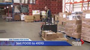 Thanks For Giving: Keith Baldrey at the Mustard Seed food bank in Victoria