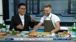 Chef Benjamin Mauroy Langlais shows off his prize winning techniques