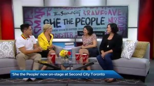 'She The People' on stage at Second City