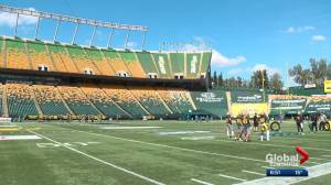 Number of players returning to Eskimos for game against Redblacks