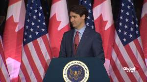'Trade is not a hockey game': Trudeau talks NAFTA benefits in U.S.