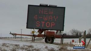 More safety precautions for dangerous highway intersection near Calgary
