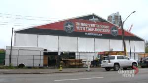 Major victory for Cowboys' Stampede tent event