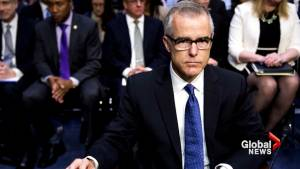 Former FBI Deputy Director McCabe points to  being a witness to Comey aftermath as reason for dismissal