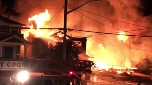 Huge fire in Port Coquitlam | Watch News Videos Online