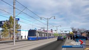 How will Stony Plain Road be changed by LRT?