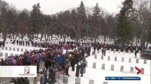 No Stone Left Alone honours Canadian soldiers in Edmonton