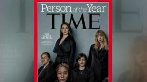 TIME Magazine named the silence breakers as its Persons of the Year.