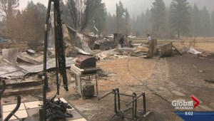 The road to recovery for Rock Creek wildfire victims
