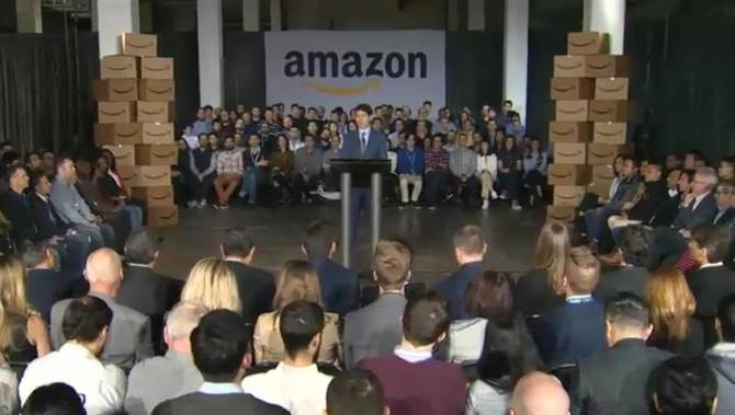 Amazon expands in Vancouver, where tech workers make over $50K less