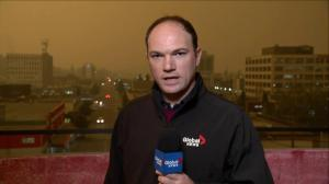 Heavy wildfire smoke drifts into Prince George causing dark skies