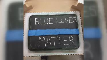 Georgia Walmart Bakery Refuses To Make Blue Lives Matter Cake Citing Racist Connotations