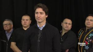 'This was an extremely touching visit': PM Trudeau talks La Loche visit