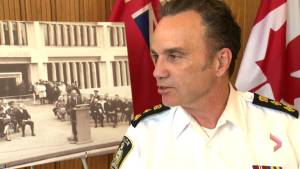 Time capsule a memory trip for Chief of Police