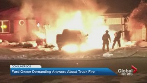Ontario man's Ford truck catches fire… 5 days after possession