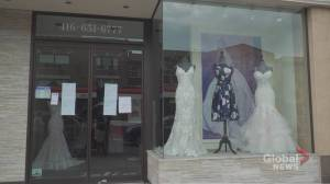 Toronto bridal store goes bust: It's a dress disaster