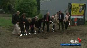 Groundbreaking ceremony for New Roxy Theatre