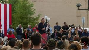 Dayton Mayor calls police officers, community 'fearless' during shooting vigil
