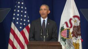 Obama references anonymous NYT editorial: 'That's not a check'