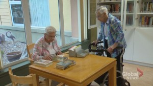 'You have to laugh!': At 90, Calgary's oldest library volunteer showing no signs of slowing down