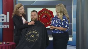 Beard grooming lessons from Bourbon Barbershop