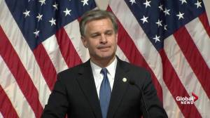 Wray discusses reputation of the FBI, says brand is 'doing just fine'