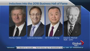 The 2018 inductees into the Junior Achievement Southern Alberta Business Hall of Fame are announced