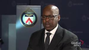 Toronto police chief reacts to call for stricter bail conditions
