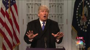 Trump declares national emergency in SNL cold open