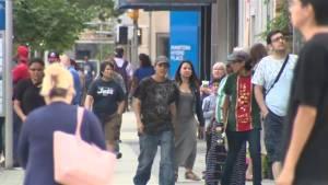 Is downtown Winnipeg still thriving following Jets' playoff run? (01:19)