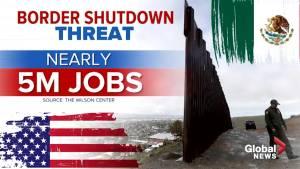 Trump threat to shut down US/Mexico border sends ripples through Washington (01:55)