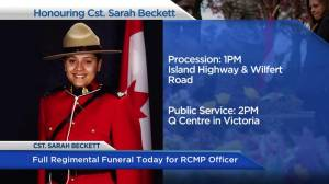 Preparations underway for Cst. Sarah Beckett's funeral