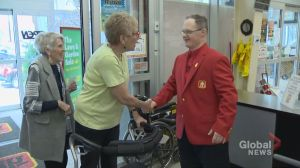 Orillia celebrates hardware store worker with Down syndrome on 25th anniversary