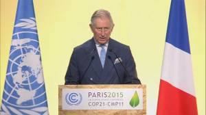 Prince Charles speaks at climate summit