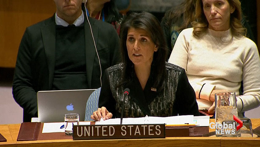 U.S. faces criticism at UNSC for exploiting situation in Iran