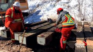 Repairs continue after 2 cars derail on Via Rail train near Moncton