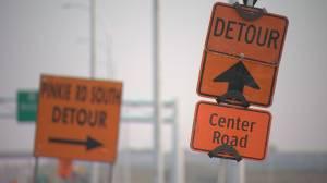 Lumsden man wants better signage along west bypass detour