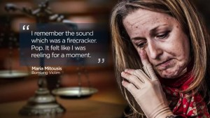 Bombing victim Maria Mitousis relives life-altering explosion at Guido Amsel trial