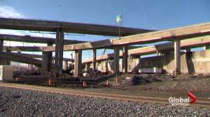 Traffic problems at the Turcot Interchange