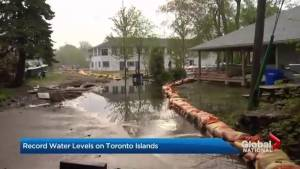 Record-breaking flooding forces cancellations on Toronto Islands