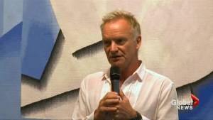 Musician Sting blasts leaders as 'cowards' over migration crisis