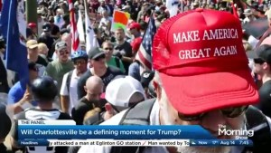 Will Charlottesville be a defining moment for Donald Trump?