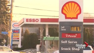 Sticker shock jolts Ontario drivers at the gas pumps