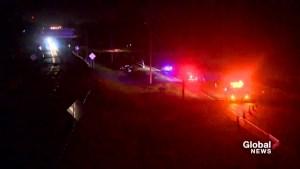 Woman injured after crashing car in Brossard
