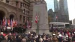 Toronto Remembrance Day service pays tribute to 100th anniversary of armistice that ended WWI