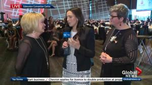 Global Edmonton Woman of Vision celebration