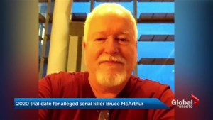 Trial date set for alleged serial killer Bruce McArthur