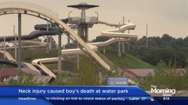 Boy's decapitation on water park slide in 2016 leads to
