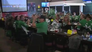 Regina football fans out in full force for NFL playoffs